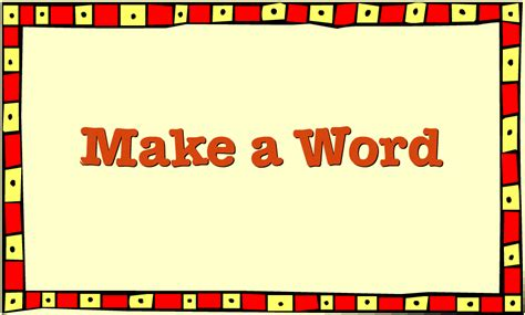 Clifford Interactive Storybooks  Make A Word Activity