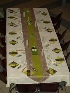 Decoration De Table Pour Anniversaire Adulte : table des adultes couleurs ivoire chocolat et vert anis la boutik d 39 angelik photos club ~ Preciouscoupons.com Idées de Décoration