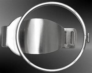 Empty Stainless Steel Money Clip For Us Silver American Eagle Or 40 6mm Coin