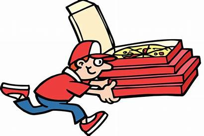 Pizza Delivery Clipart Guy Clip Order Cliparts