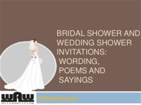 bridal shower quotes  cards quotesgram