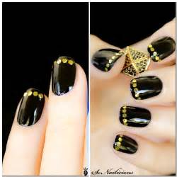 Black and gold nail designs tumblr images pictures becuo