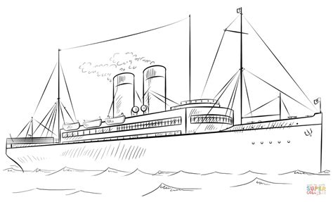Barco De Vapor Dibujo by Dibujo De Barco De Vapor Para Colorear Dibujos Para