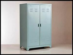 Armoire Metallique Chambre : armoire metallique chambre passions photos ~ Teatrodelosmanantiales.com Idées de Décoration