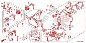 Wire Harness  Battery For Honda Sh 125 Abs Ds 2016   Honda