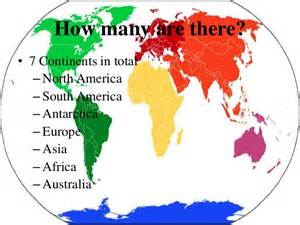 How Many Continents Are There in the World