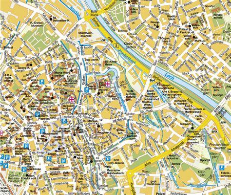 augsburg map
