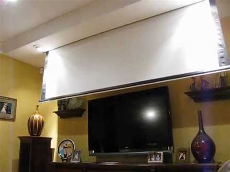 projector screen  front  tv youtube
