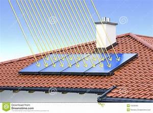 Solar Auf Dem Dach : solarzelle auf dem dach stock abbildung bild von solar 10526460 ~ Heinz-duthel.com Haus und Dekorationen
