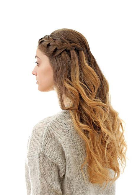 6 peinados con trenzas y cabello suelto Love is in my hair
