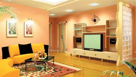 beautiful hall colour designs  images