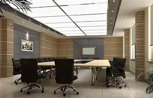 Elegant conference room indoor wall unit design