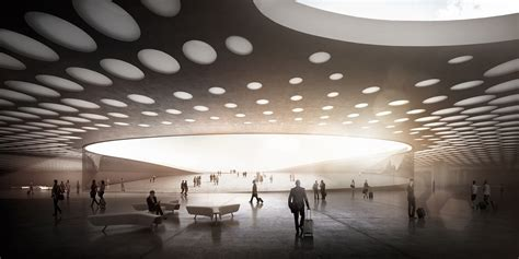 design architecture bureau wall designs paveletskaya transit hub for moscow