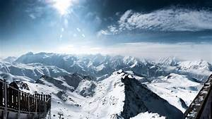 Central, French, Alps, Wallpapers