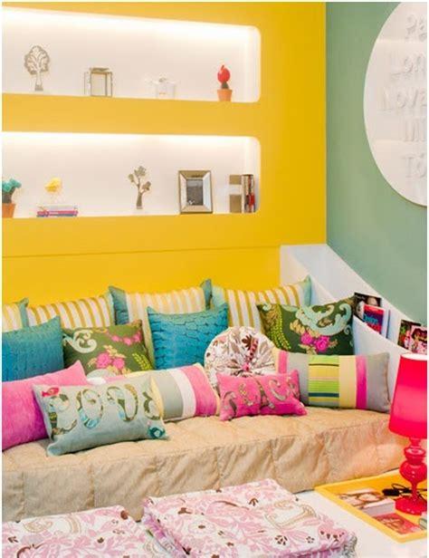 Colorful And Joyful Bedroom For Teenage Girl Bedroom