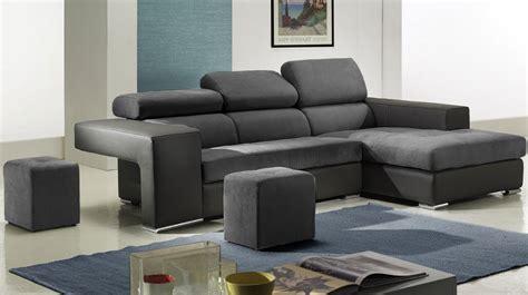 canapé d angle microfibre gris canape design d angle maison design wiblia com