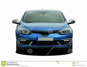 Voiture De Tourisme : vue de face bleue de voiture de tourisme photo stock image 48917417 ~ Maxctalentgroup.com Avis de Voitures