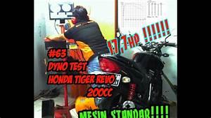 63 Dyno Test Honda Tiger Revo 200cc