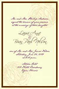 Catholic wedding invitation wording theruntimecom for Wedding invitation quotes in english for sister marriage