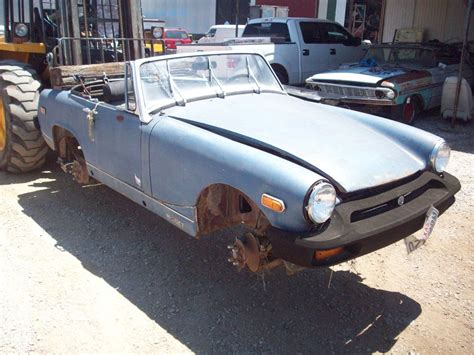 1976 MG Midget Parts Car 1