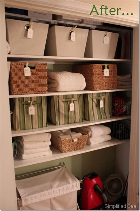 {organizedhome} Day 26 Linen Closets  The Complete Guide