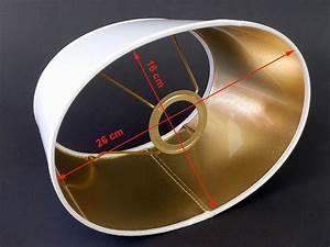 Lampenschirm Weiß Innen Gold : oval wei gold ~ Bigdaddyawards.com Haus und Dekorationen