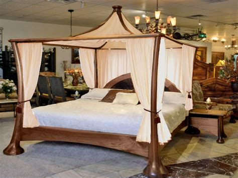 Four Poster Canopy Bed King Four Poster Bed Bedroom
