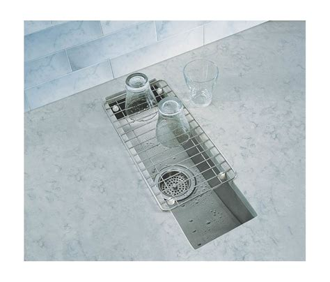 kohler stainless steel sink and faucet package faucet com k 3154 na in stainless steel by kohler