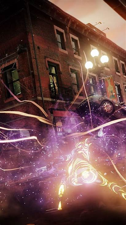 Infamous Second Son Ps4 Wallpapers Wallpapershome