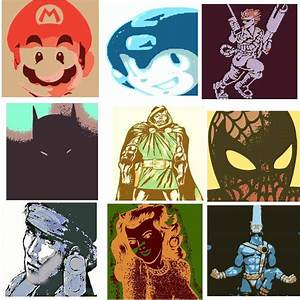 DevintheCool Comics and Video Game Pop Art by DevintheCool ...