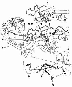 1999 Ford Taurus Brake Line Diagram