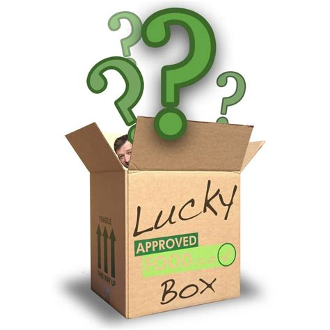 DO NOT USE THIS LUCKY BOX ID Approved Food Lucky Box
