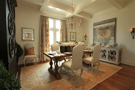 decorate  buffet table  dining room