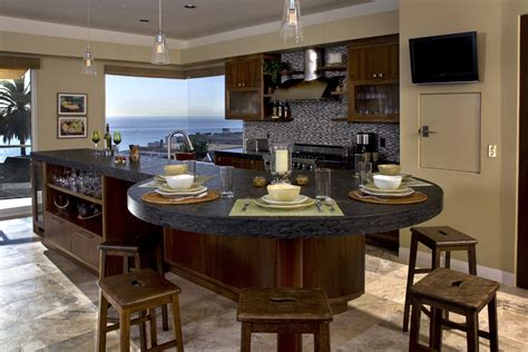 kitchen island table ideas cool kitchen island table decorating ideas images in