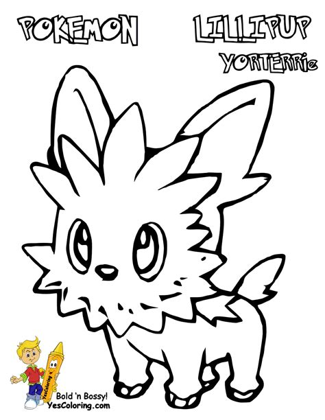 HD wallpapers herdier pokemon coloring pages