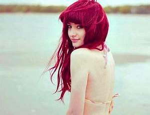 Acheter Coloration Rouge Framboise : inspiration couleur cheveux rose ~ Melissatoandfro.com Idées de Décoration