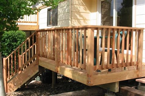 wood deck railing design deck pinterest wood deck railing railing design  deck railings