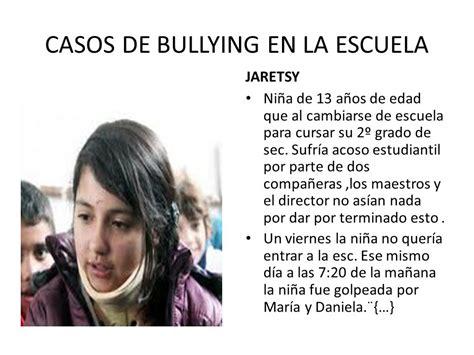 Bullying En La Escuela Bullying El Acoso Escolar Se Divide En Dos Categor 237 As