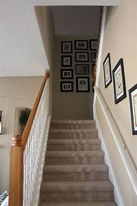 Hallway Bookcase Decorating Stairs And Landing Ideas