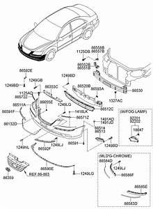 865523k500 - Hyundai Bracket