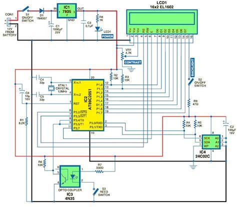 circuit schematic electronics engineering lovers