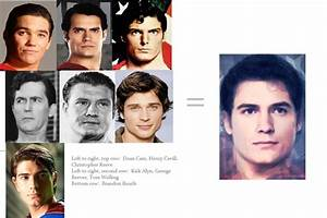 Morph of all the actors who have played Superman in film ...