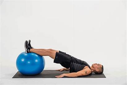 Ball Exercises Yoga Exercise Stability Hip Leg