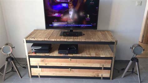 petit meuble chambre un meuble télé industriel à petit prix bidouilles ikea
