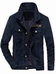 True Religion Fitting Chart Men 39 S Corduroy Trucker Jacket Casual Stand Collar Button