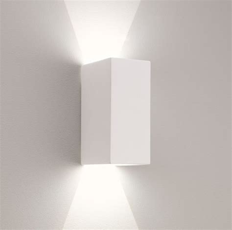up and down wall lights sleek up and down plaster wall light