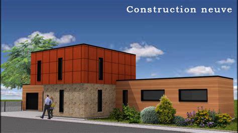 maison ossature bois 160m2 studio de jardin 20m2 modulo concept