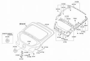 873702v000 - Hyundai Garnish Assembly