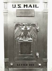 144 best images about art deco mailboxs on pinterest With art deco letter box