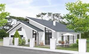 Garage Mit Pultdach : bungalow 162 moderner bungalow mit pultdach und doppelgarage ~ Michelbontemps.com Haus und Dekorationen